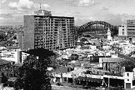 MLC, North Sydney in the late 1950s.