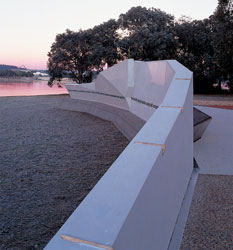 Looking along the east face of Aspect's National