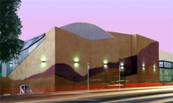 Alice Springs Cinema, Fourth Auditorium, by Susan Dugdale Architect. Photograph Sue Dugdale and Nancy Lau.