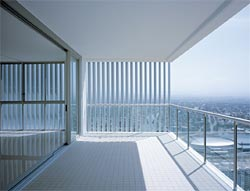 Air architectureau for Balcony louvres