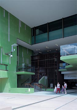 Millennium library architectureau for Queensland terrace state library