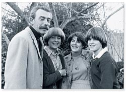 The family, 1976. Photograph The Canberra Times.