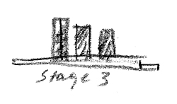 Stage 3 proposes three towers for the site.