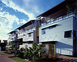 Cotton Tree Pilot Housing. Image: Richard Stringer.